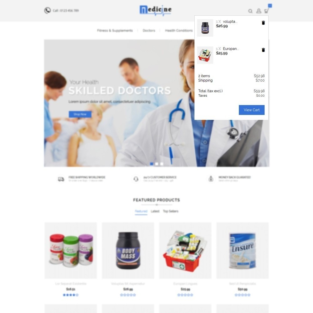 theme - Health & Beauty - Medicine Store - 8