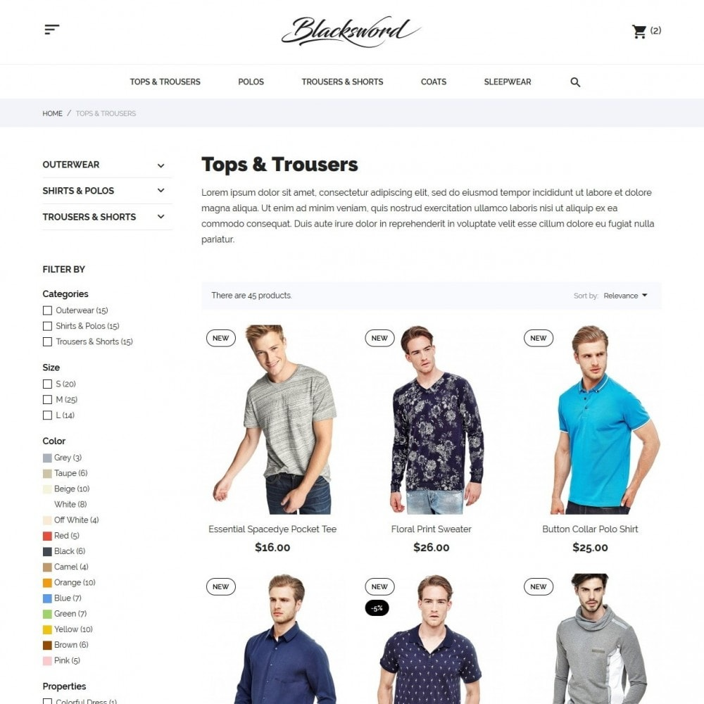 theme - Moda & Calzature - Blacksword Men's Wear - 6