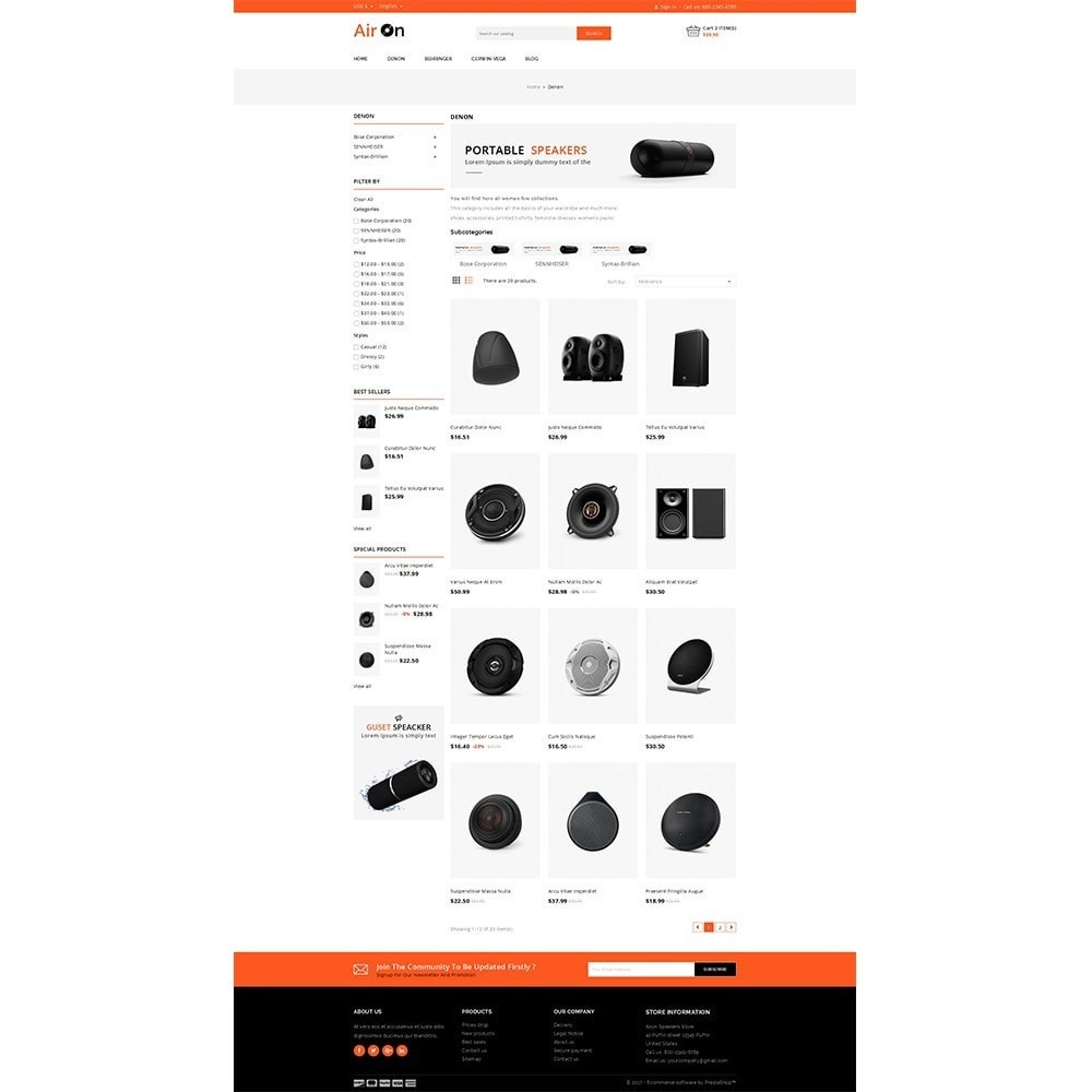 Airon Speakers Store