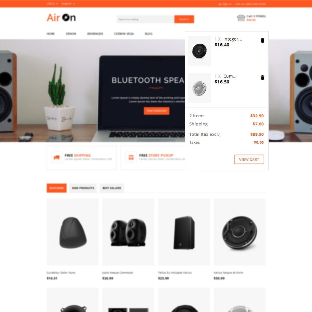 theme - Electronics & Computers - Airon Speakers Store - 6