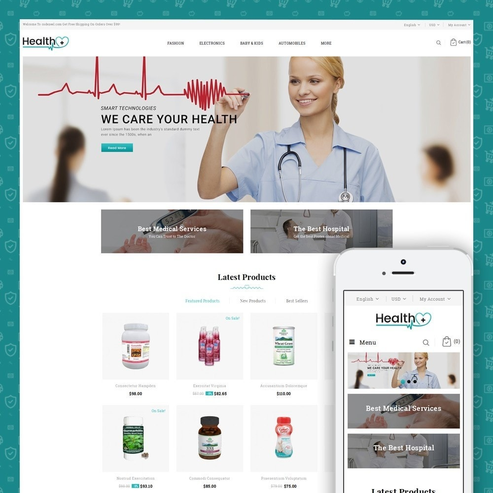 Health - Medical Store