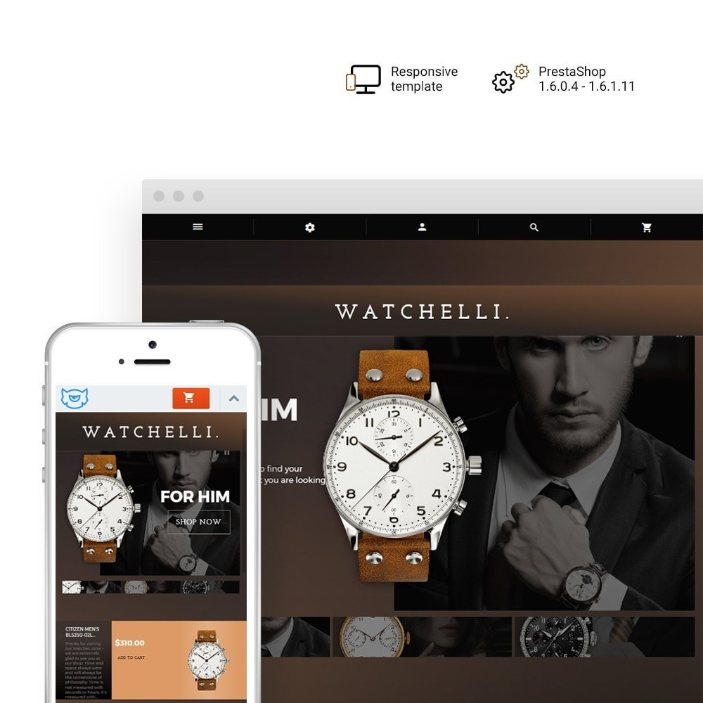 theme - Moda & Obuwie - Watchelli - Luxury Watches Store - 1