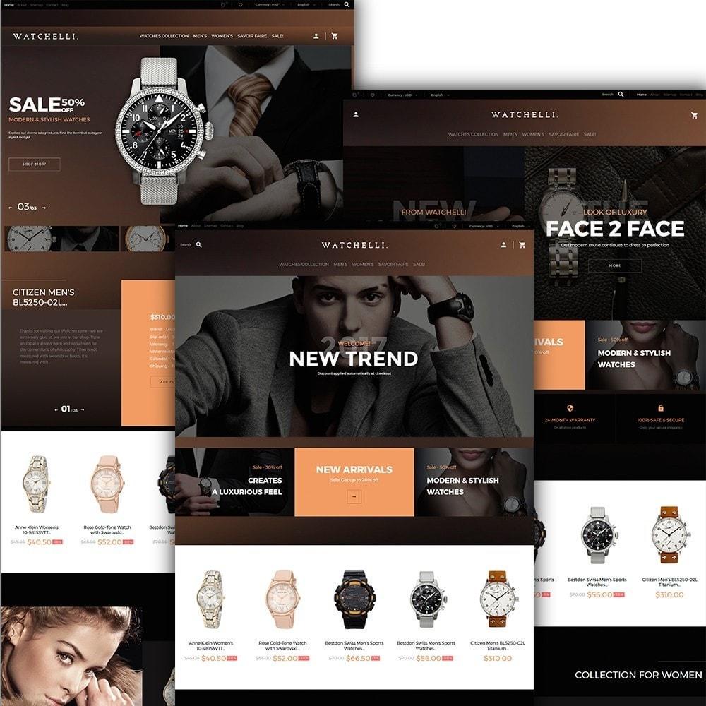 theme - Mode & Chaussures - Watchelli - Magasin de montres de luxe - 2