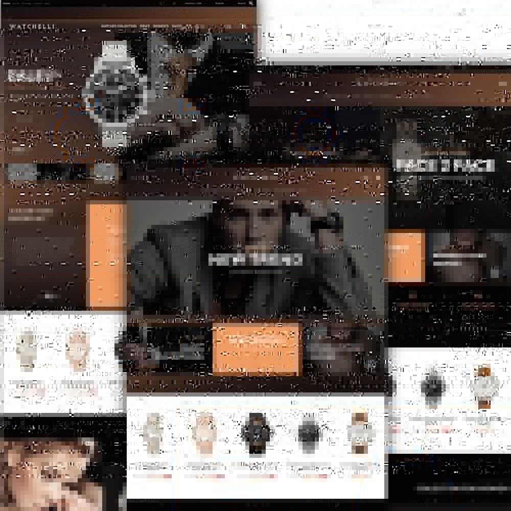 Watchelli - шаблон по продаже часов