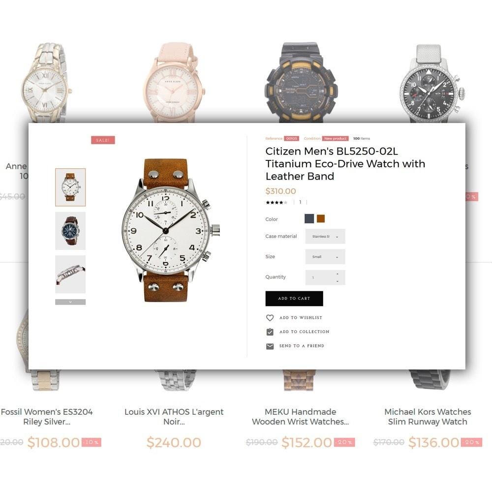 theme - Мода и обувь - Watchelli - шаблон по продаже часов - 4