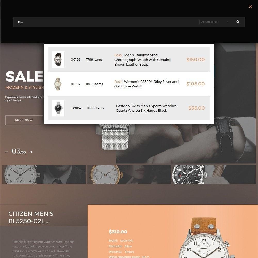 theme - Мода и обувь - Watchelli - шаблон по продаже часов - 5