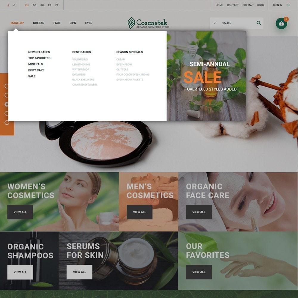theme - Mode & Schuhe - Cosmetek - Organic Cosmetics Store - 3