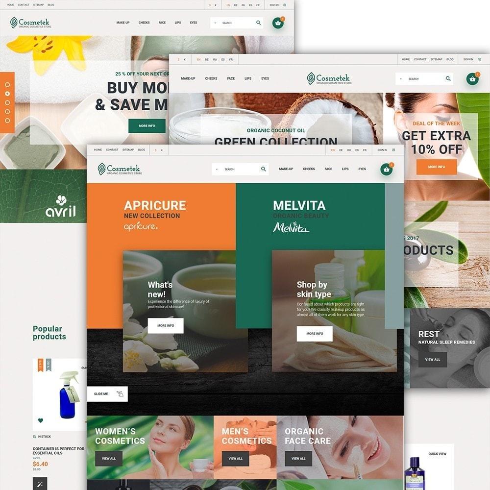 Cosmetek - para Sitio de Tienda de Cosméticos