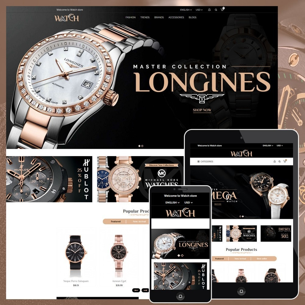 Luxury Watch Shop
