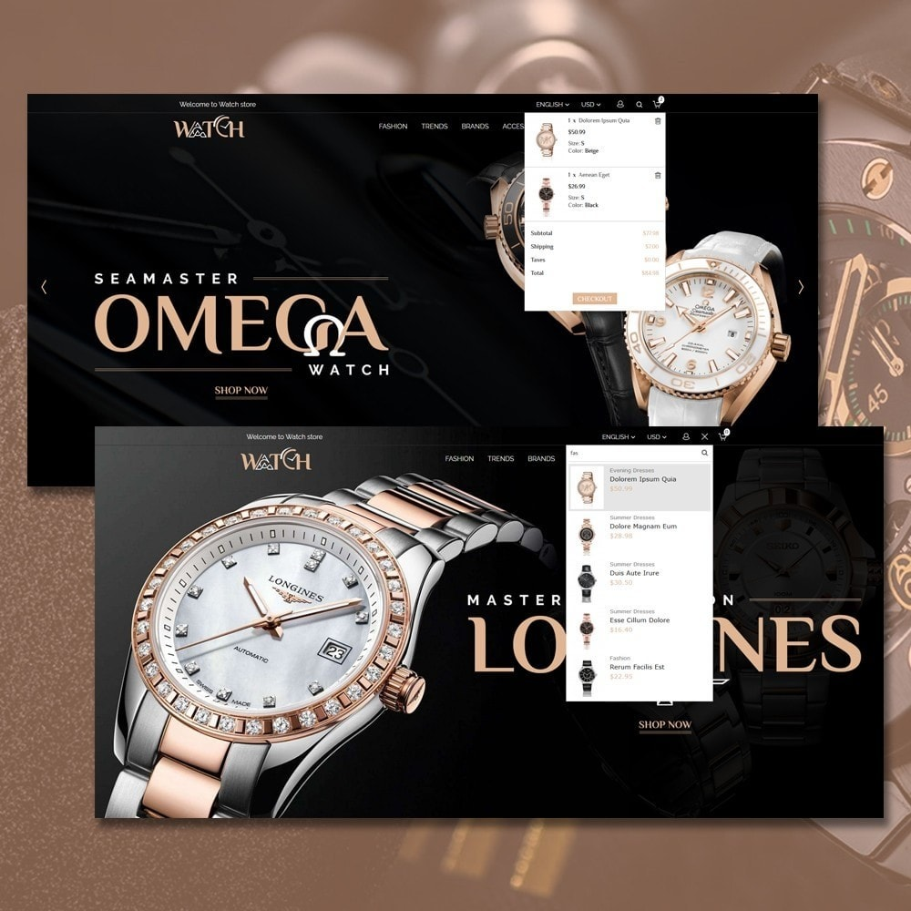 theme - Jewelry & Accessories - Luxury Watch Shop - 3