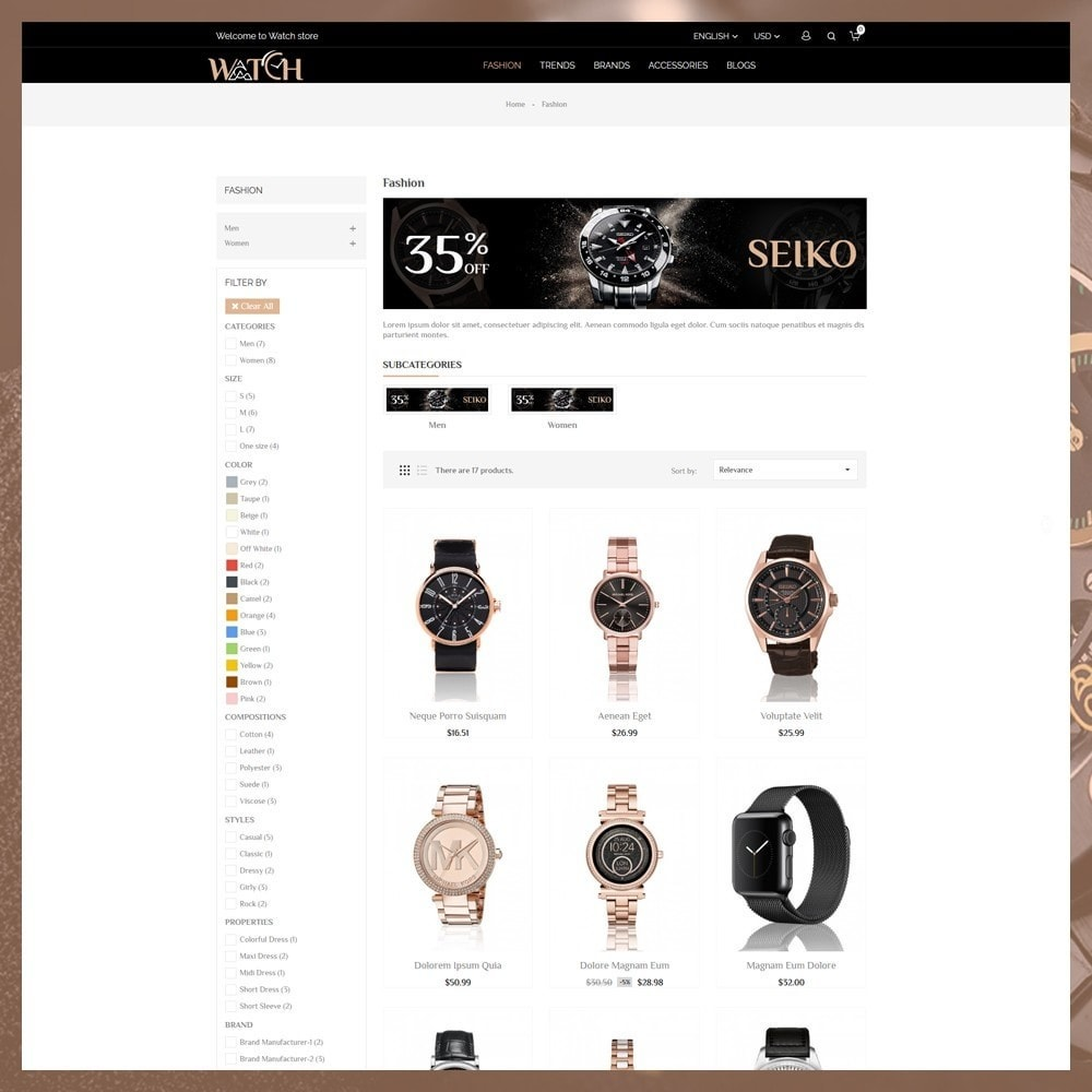 theme - Jewelry & Accessories - Luxury Watch Shop - 4