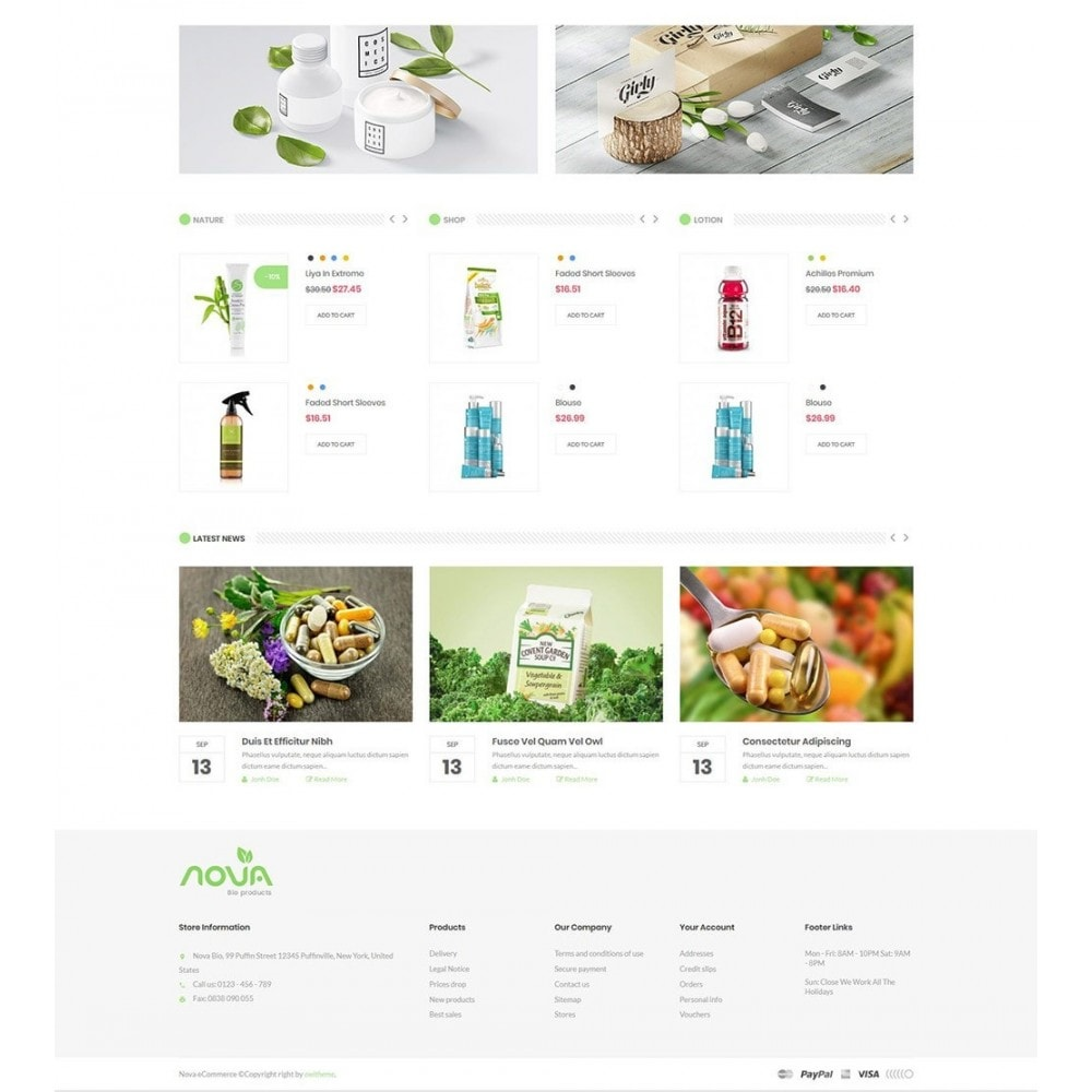 theme - Salute & Bellezza - Nova - Bio & Medical Store - 3