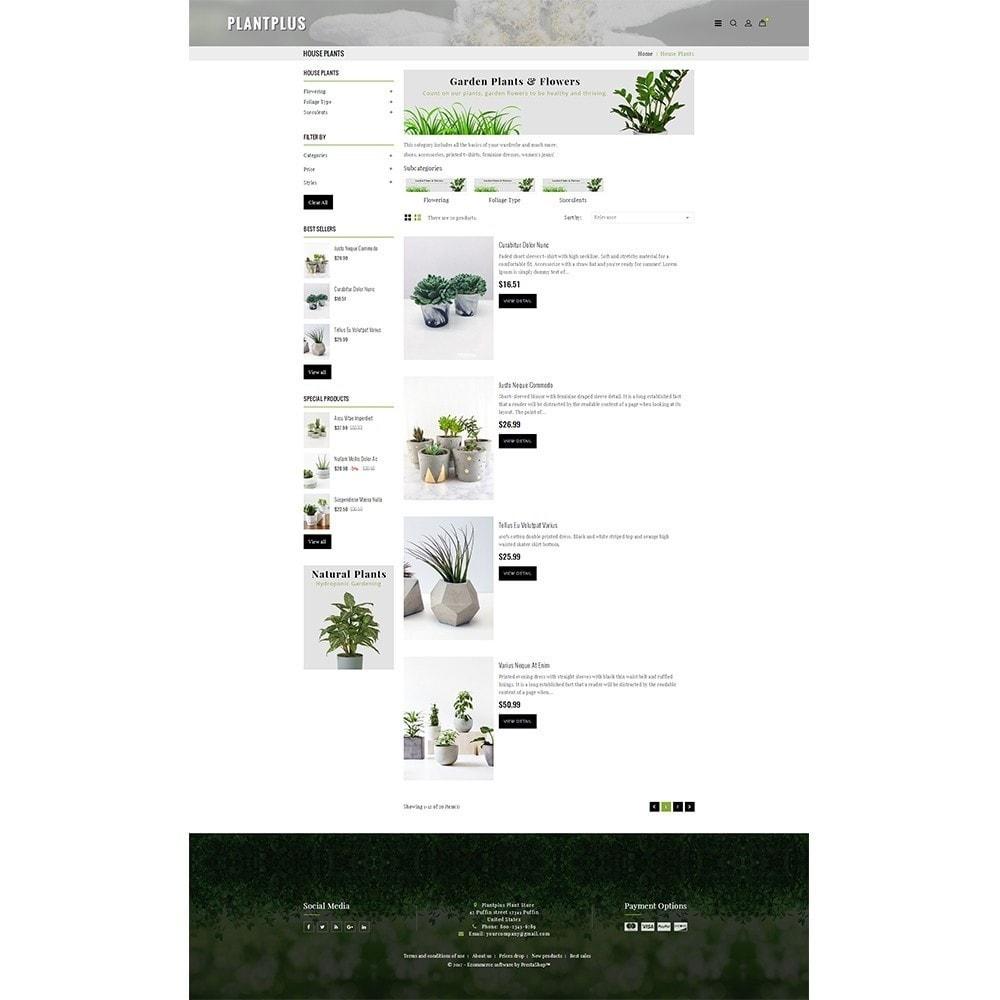 theme - Hogar y Jardín - Plantplus Plant Shop - 5