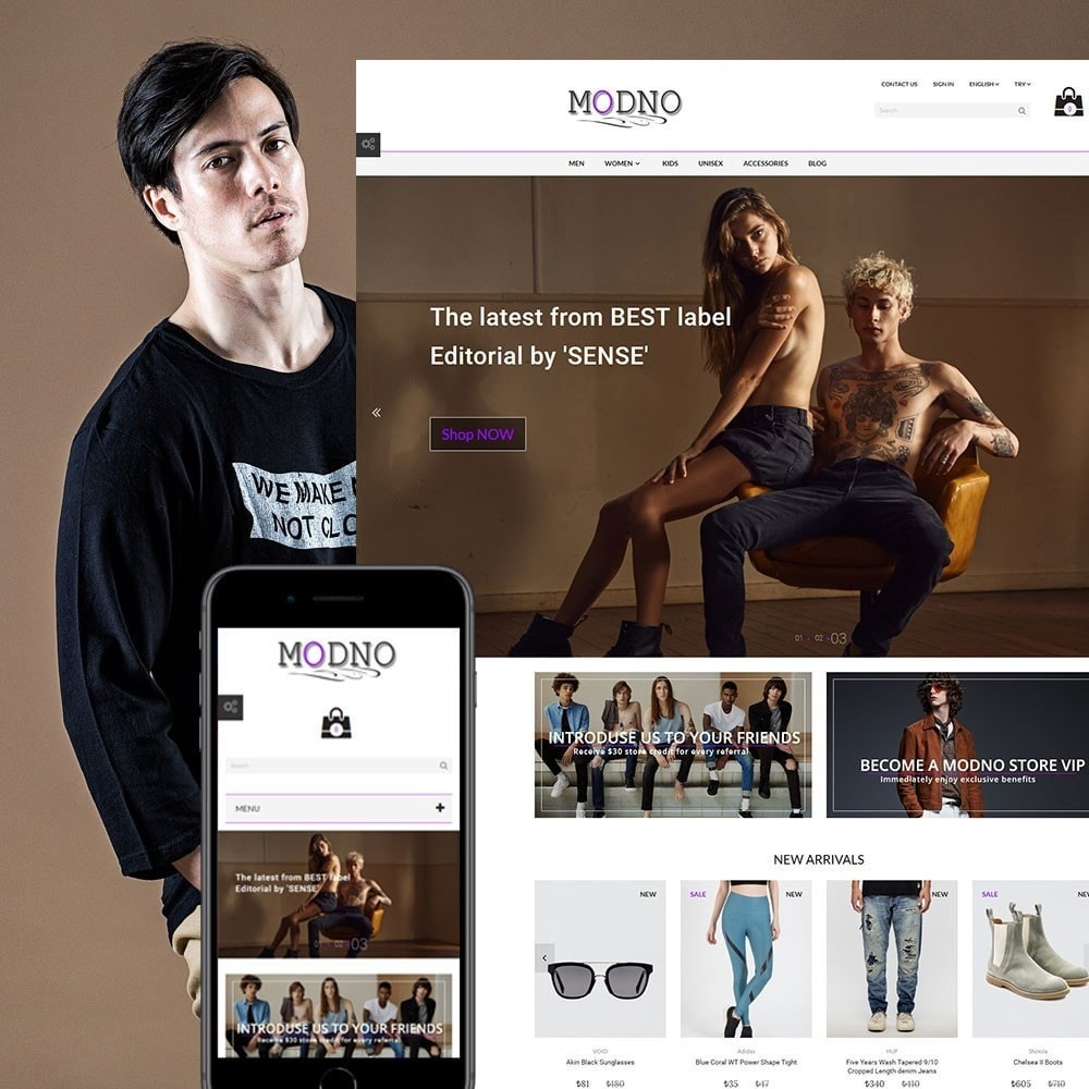 Modno - Clothing and Fashion Store