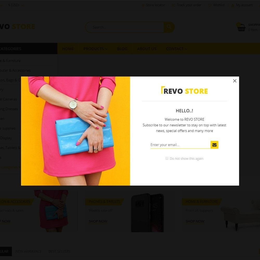 theme - Elektronika & High Tech - Revo Store - Fashion, digital and furniture - 7