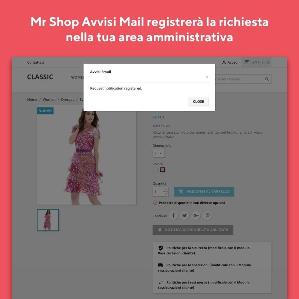 module - Email & Notifiche - Mr Shop Avvisi Mail - 4