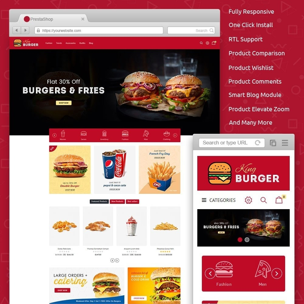 King Burger Store