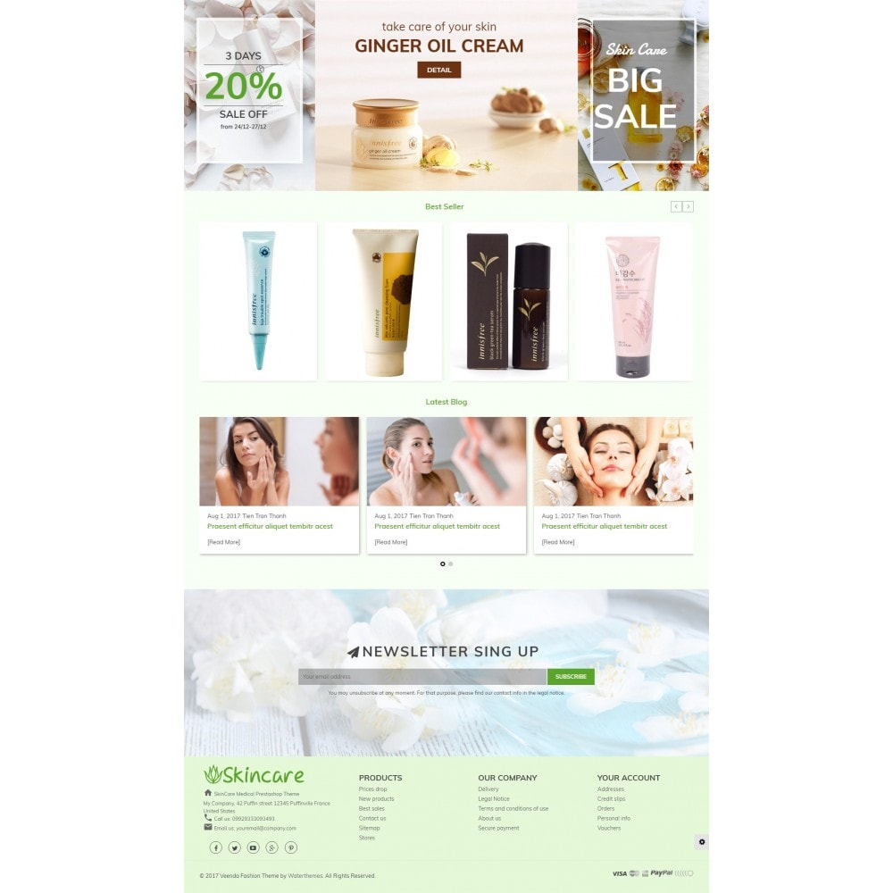 theme - Health & Beauty - SkinCare - Bio Medical Store - 3