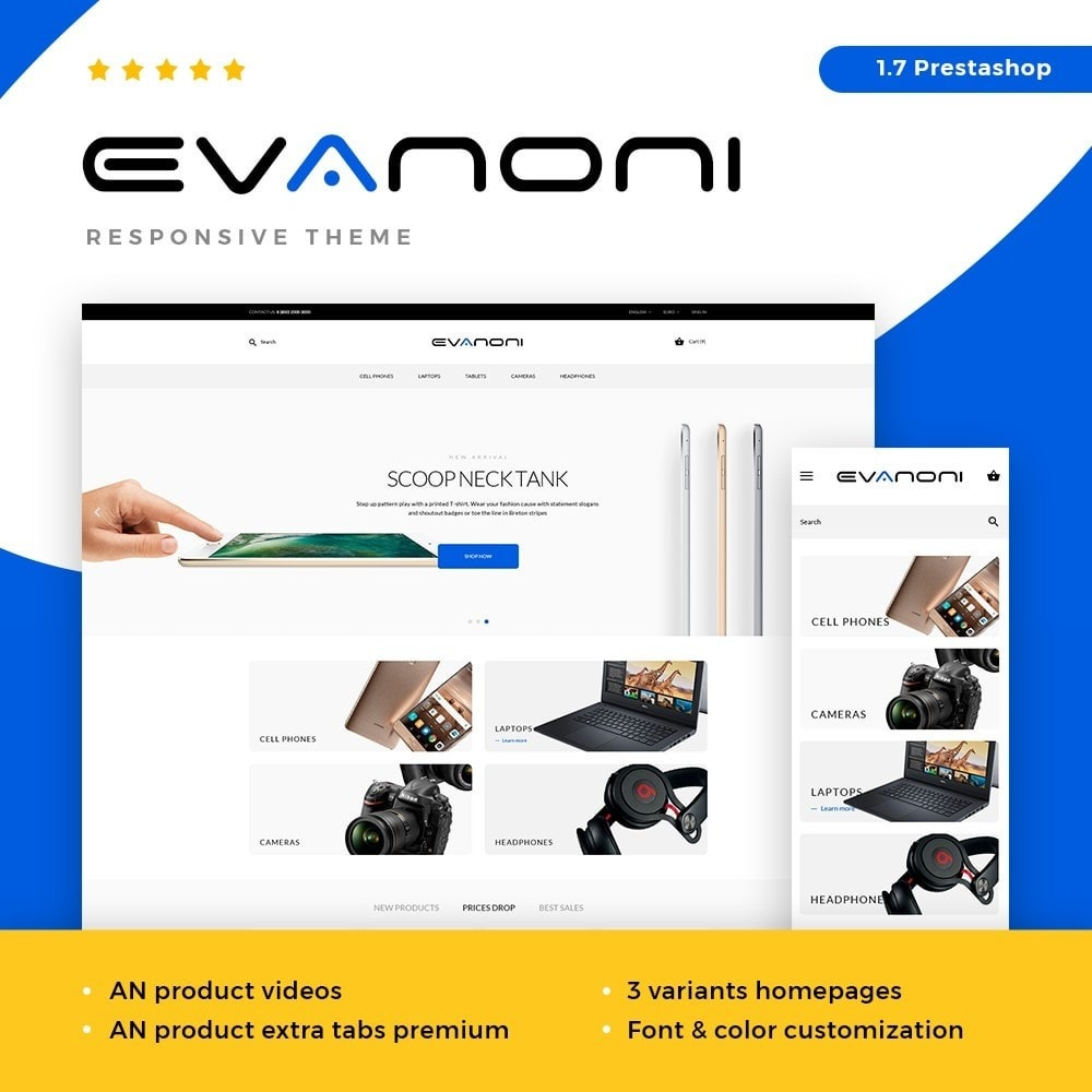 Evanoni - High-tech Shop