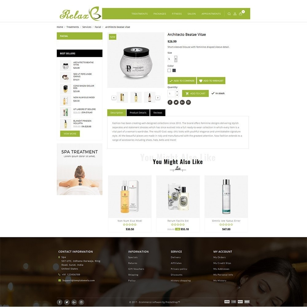 theme - Health & Beauty - Relax Spa Store - 5