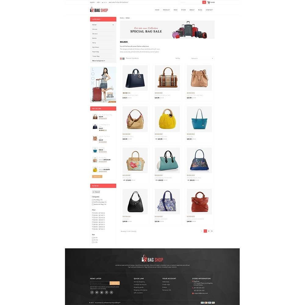 theme - Mode & Schoenen - Bag Store - 3