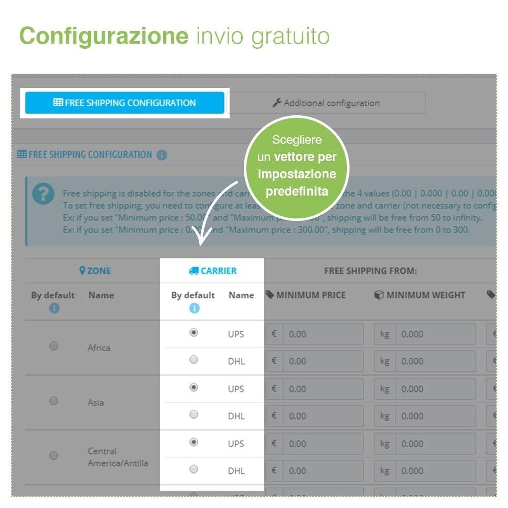 module - Spese di Spedizione - Invio Gratuito per Zona, Corriere, Peso e Prezzo - 4