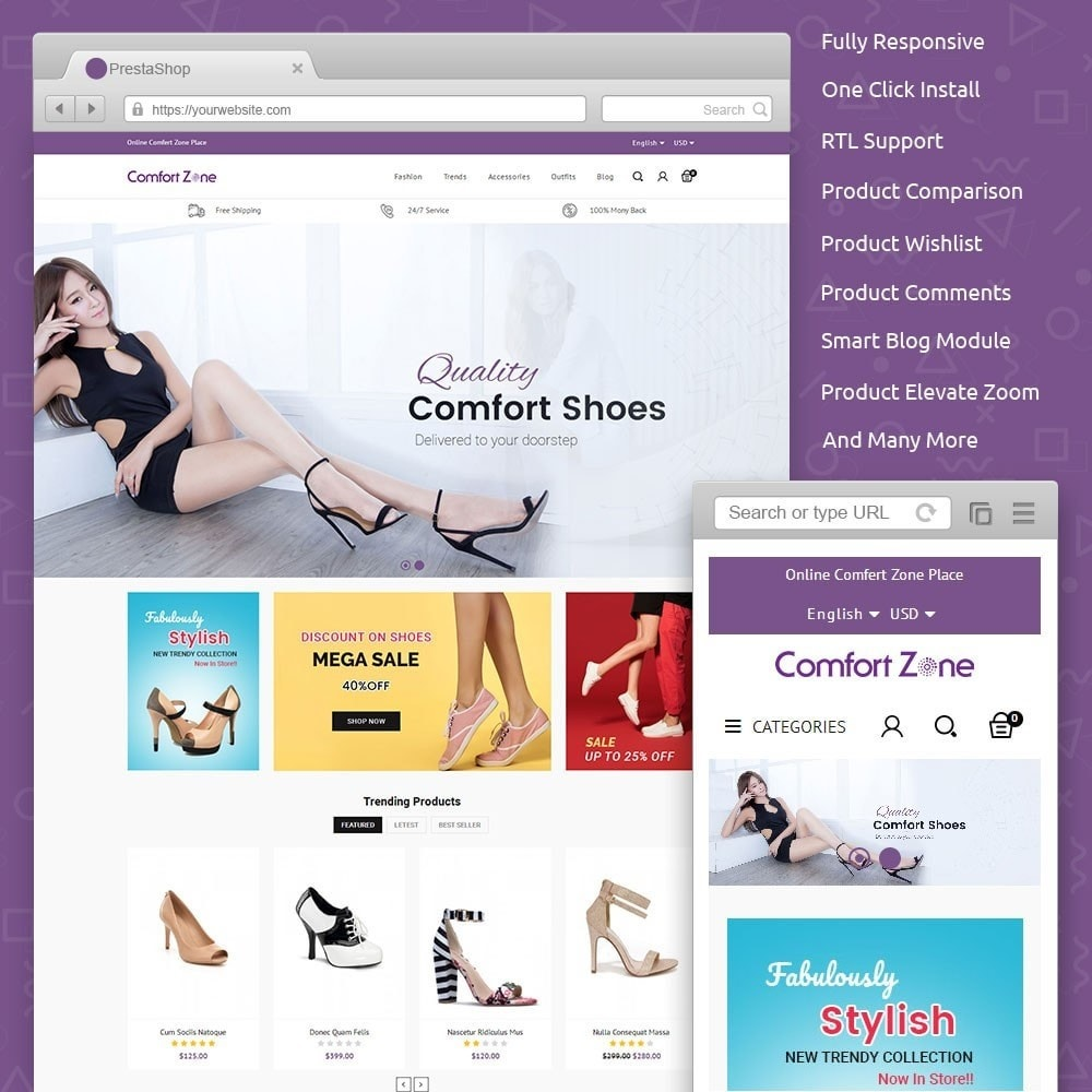 Comfort Zone Shoes Store