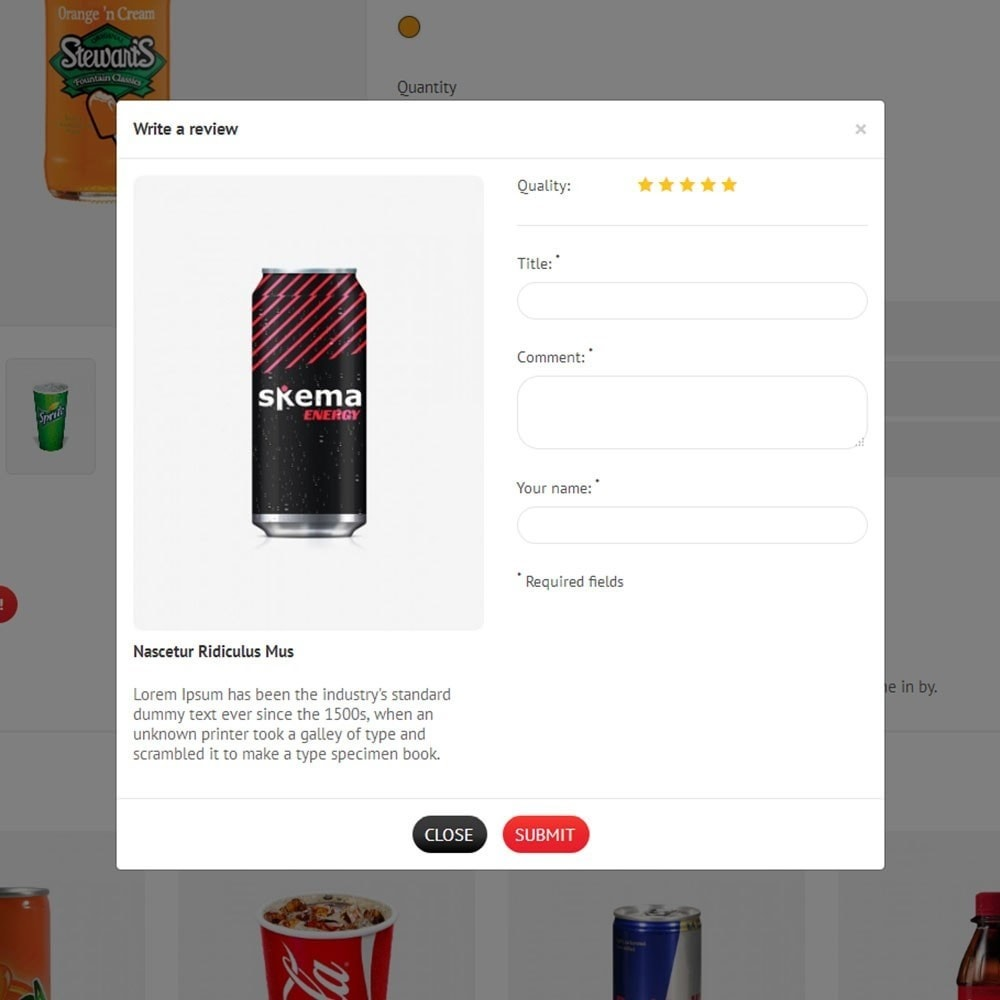 theme - Napoje & Wyroby tytoniowe - Elixir Drink Store - 6