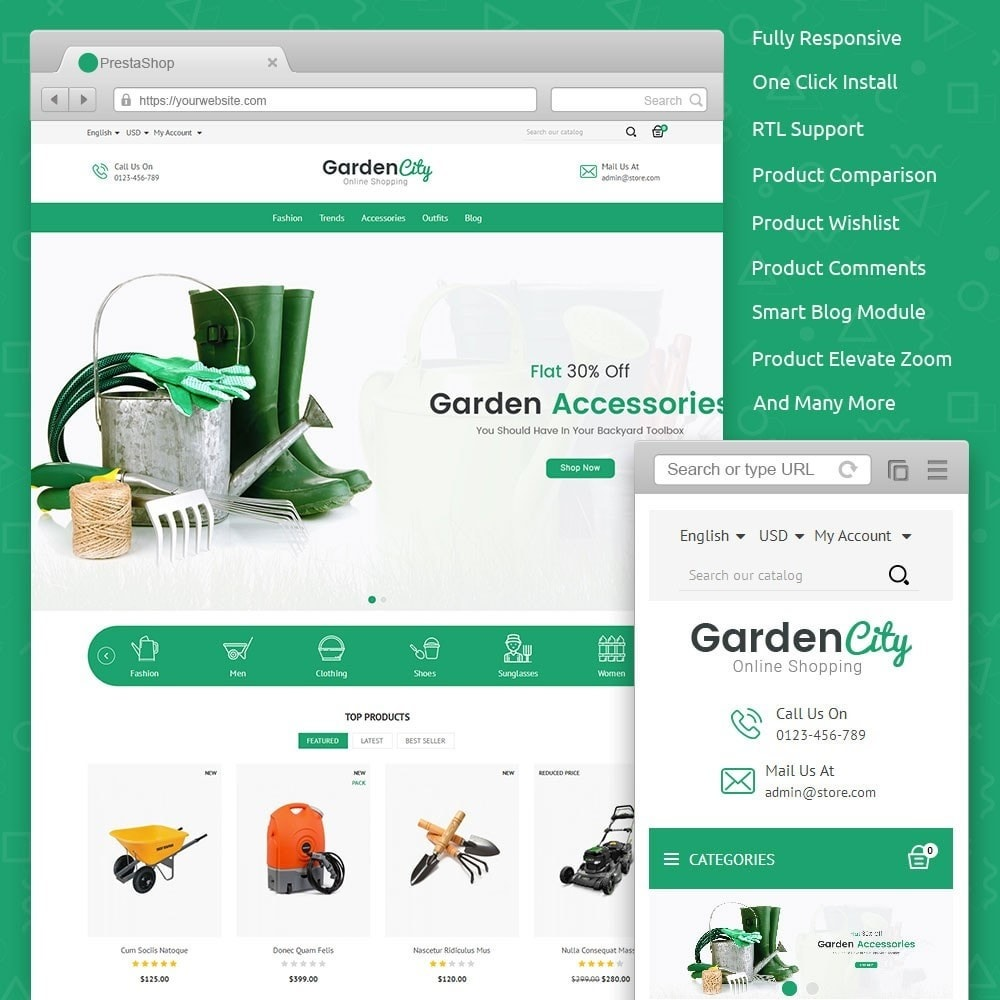 theme - Hogar y Jardín - Garden City Store - 1