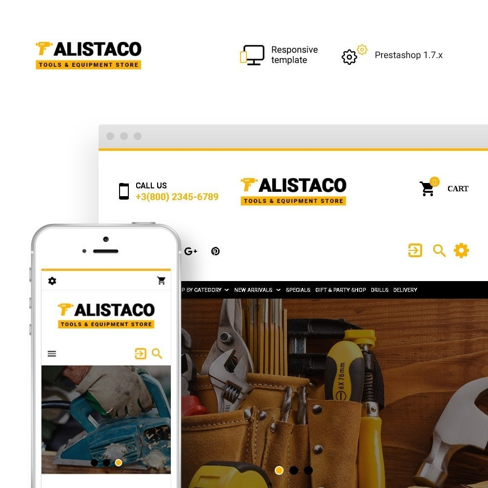 theme - Dom & Ogród - Alistaco - Tools & Equipment Store - 1