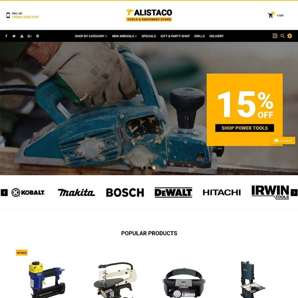 theme - Dom & Ogród - Alistaco - Tools & Equipment Store - 2