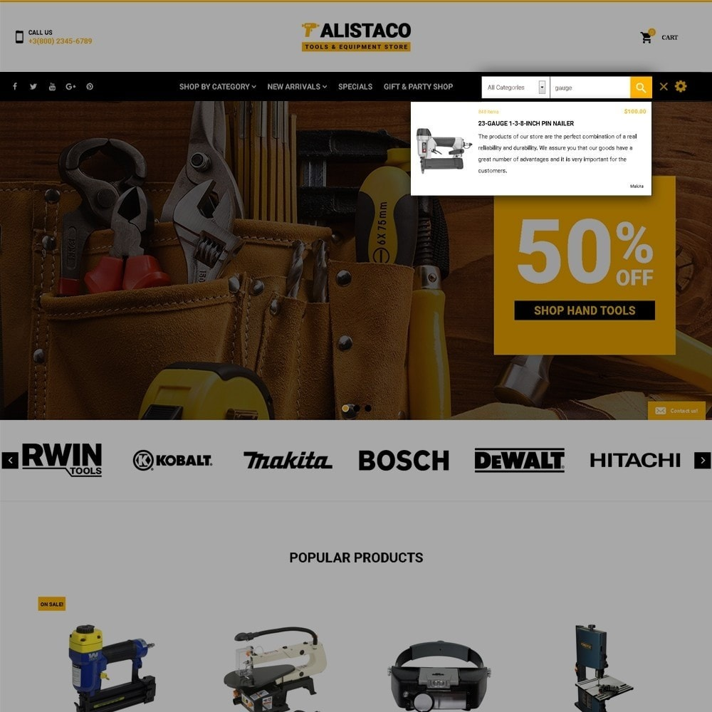 theme - Dom & Ogród - Alistaco - Tools & Equipment Store - 6