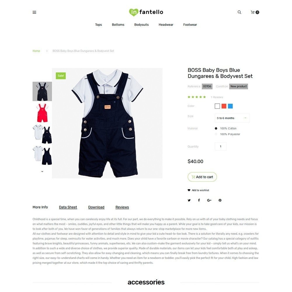 Infantello - Infant Clothing Store