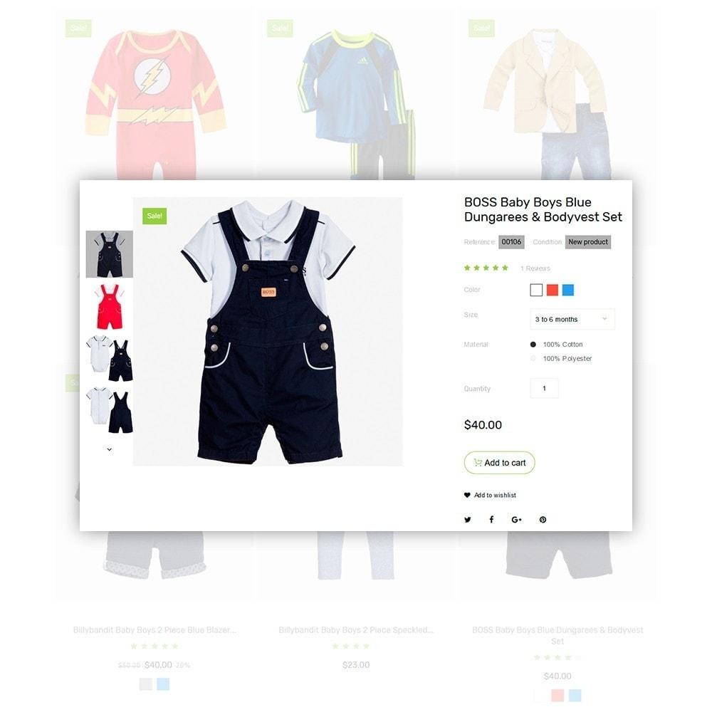 theme - Casa & Giardino - Infantello - Negozio di Vestiti per bambini - 4