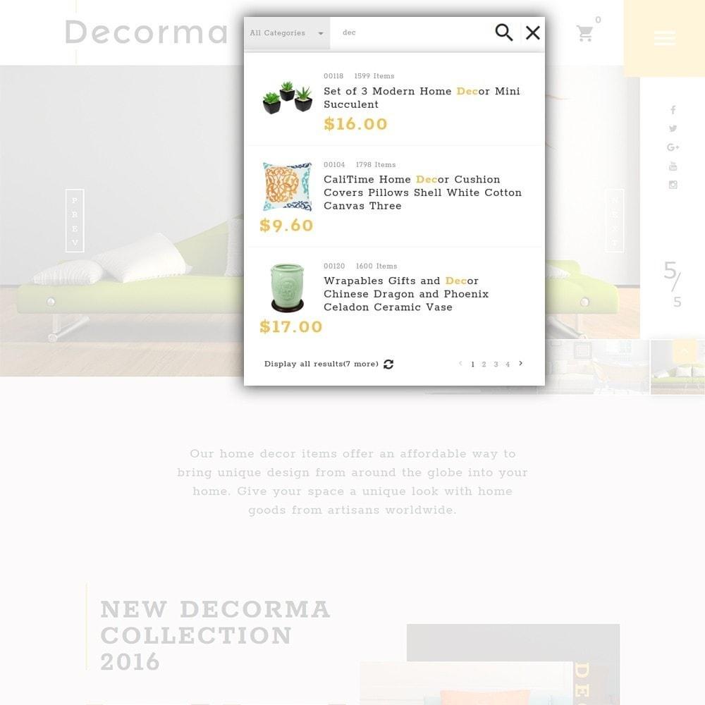 theme - Arte y Cultura - Decorma - para Sitio de Decoración del hogar - 4