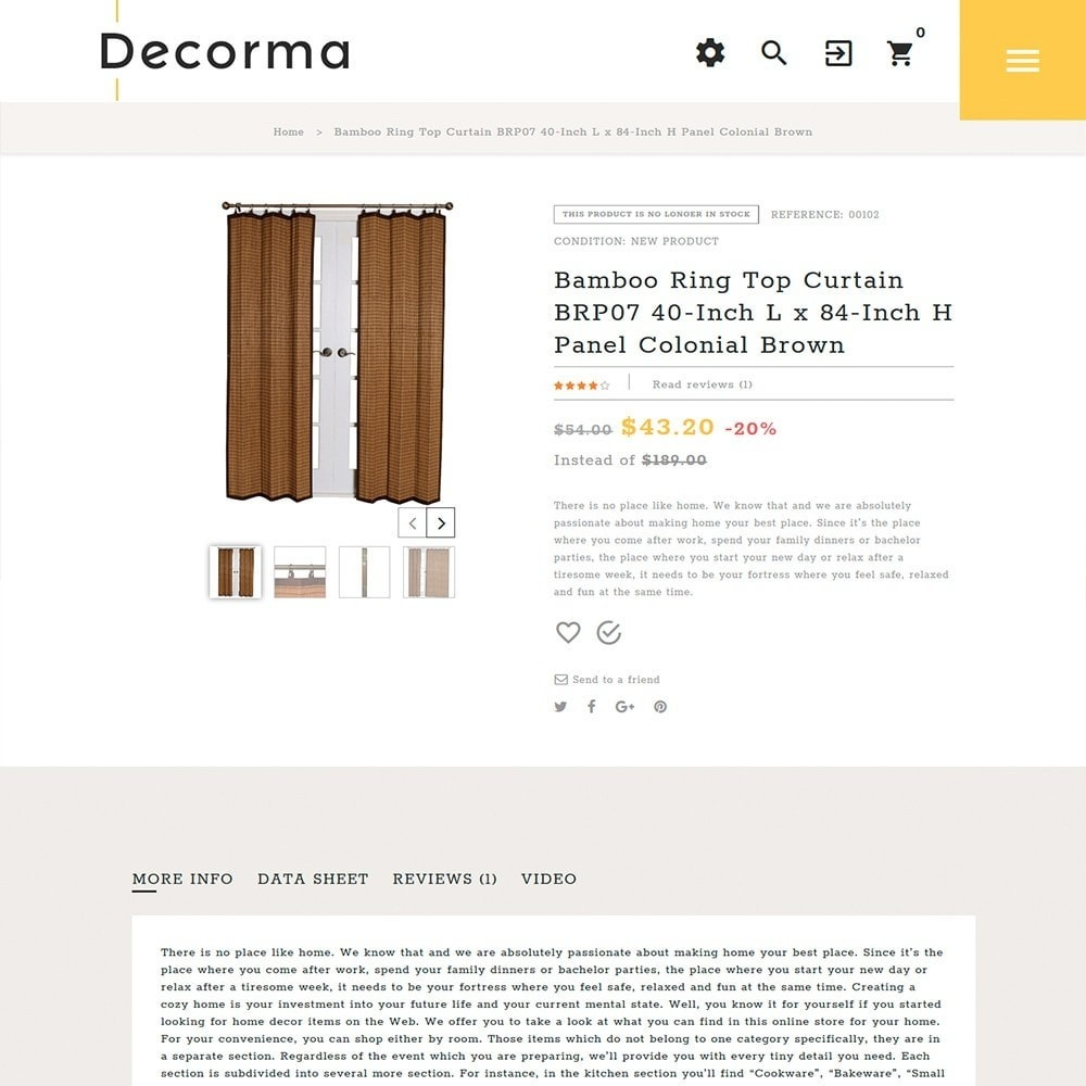 Decorma - per Un Sito di Home Decor