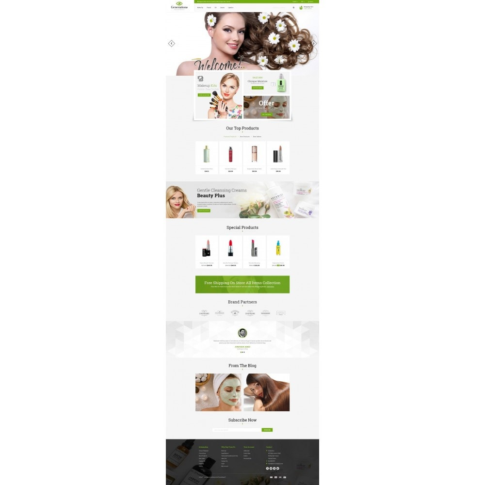 theme - Salud y Belleza - Generations Nature Beauty Store - 2