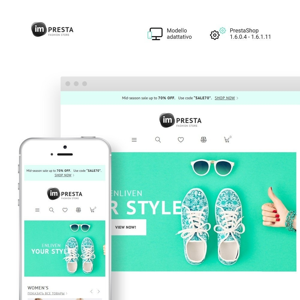 theme - Moda & Calzature - imPresta - Multipurpose - 1
