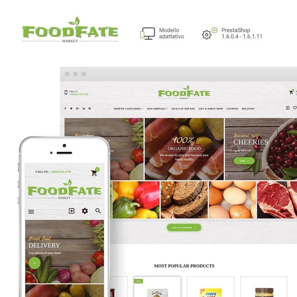 theme - Cibo & Ristorazione - FoodFate - per Un Sito di Negozio di Alimentari - 2