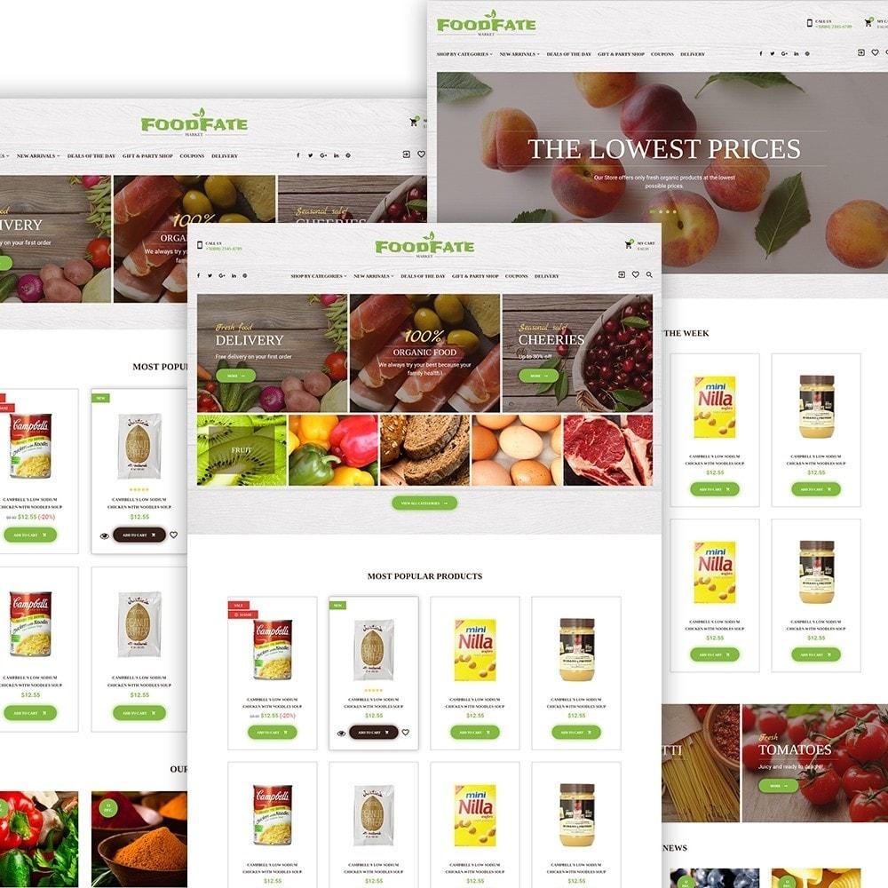 FoodFate - per Un Sito di Negozio di Alimentari