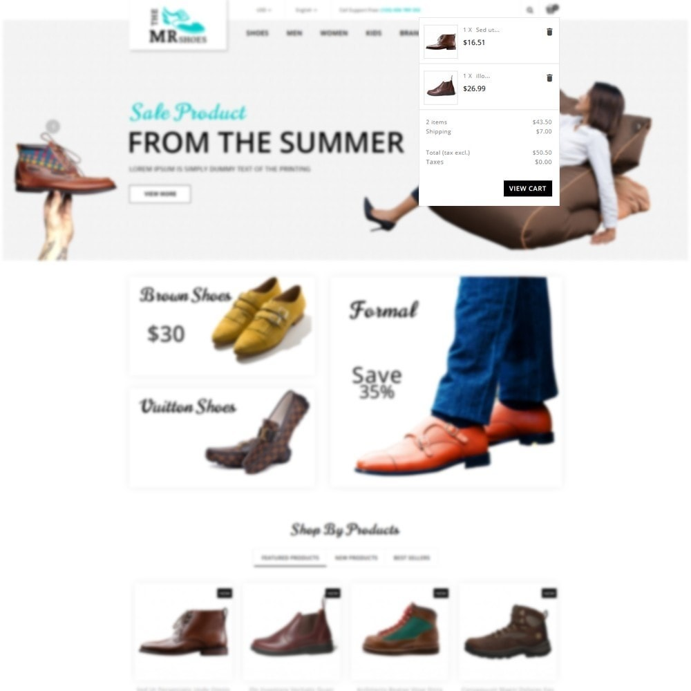 theme - Fashion & Shoes - The MR shoes store - 6