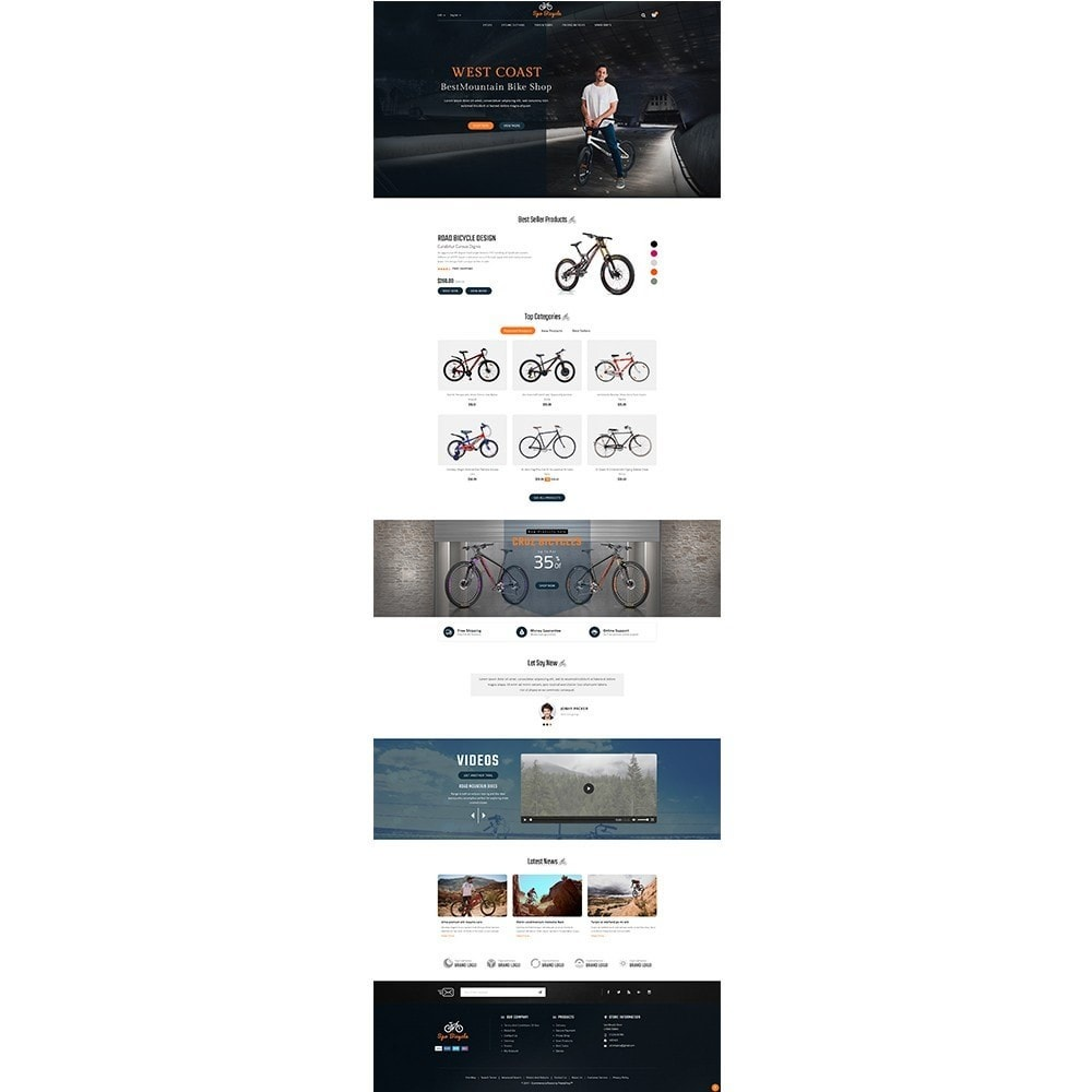 theme - Auto's & Motoren - Spo Bicycle Store - 2