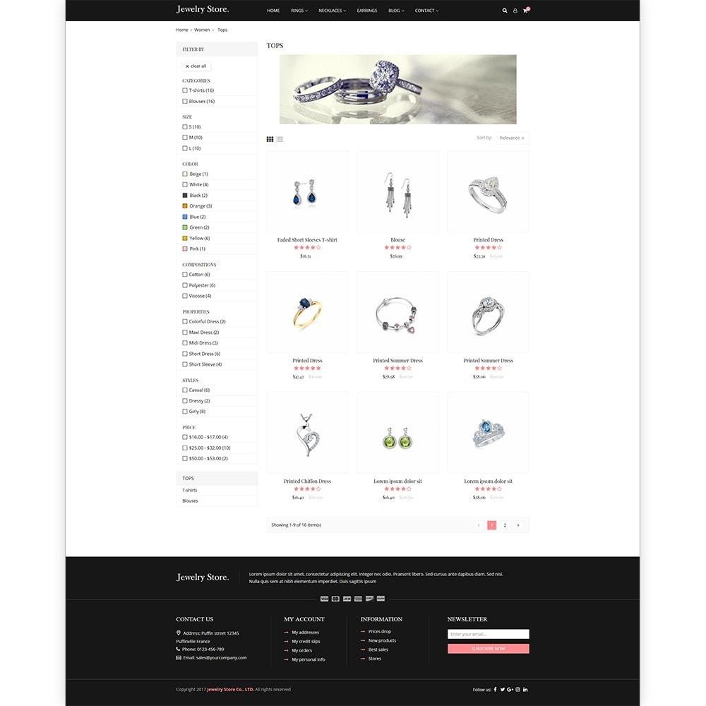 Jewelry Store - Premium PrestaShop Template