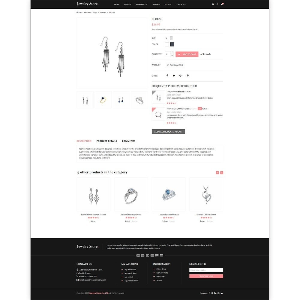 theme - Bellezza & Gioielli - Jewelry Store - Premium PrestaShop Template - 4