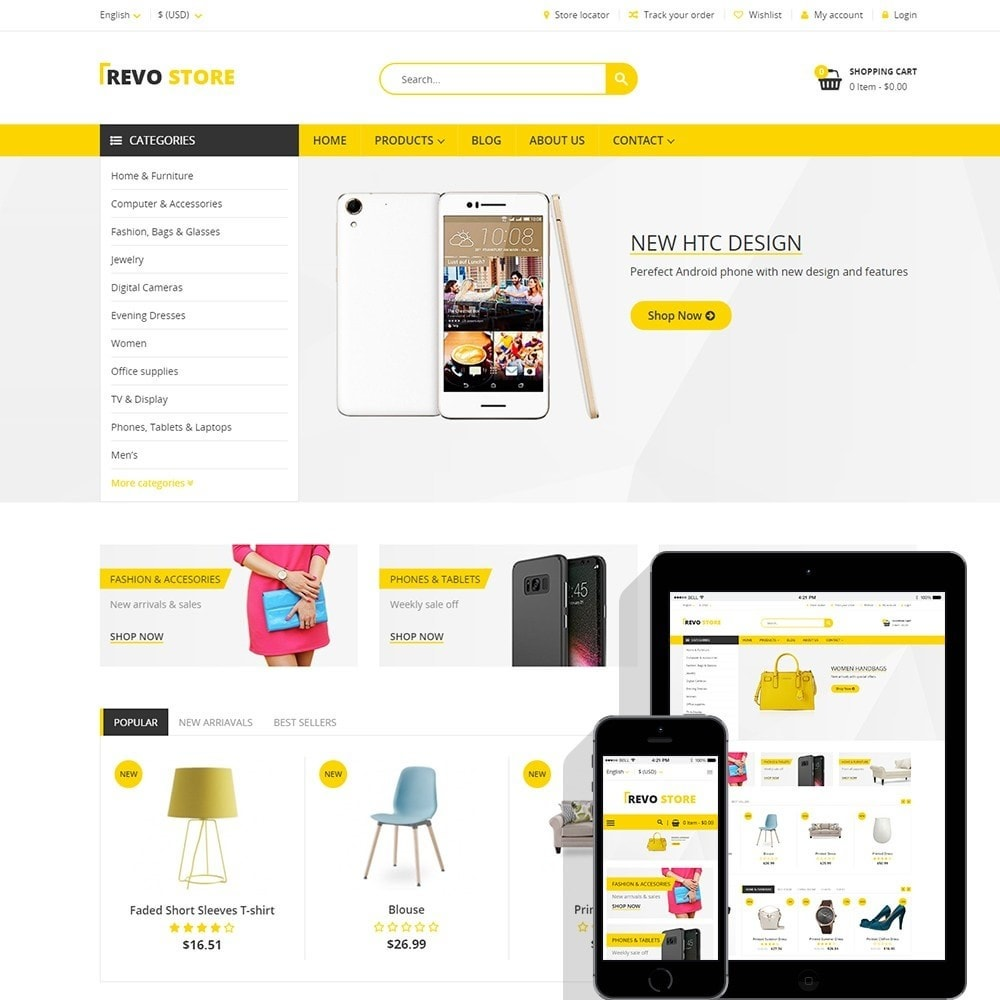 Revo Store - Fashion, digital and furniture
