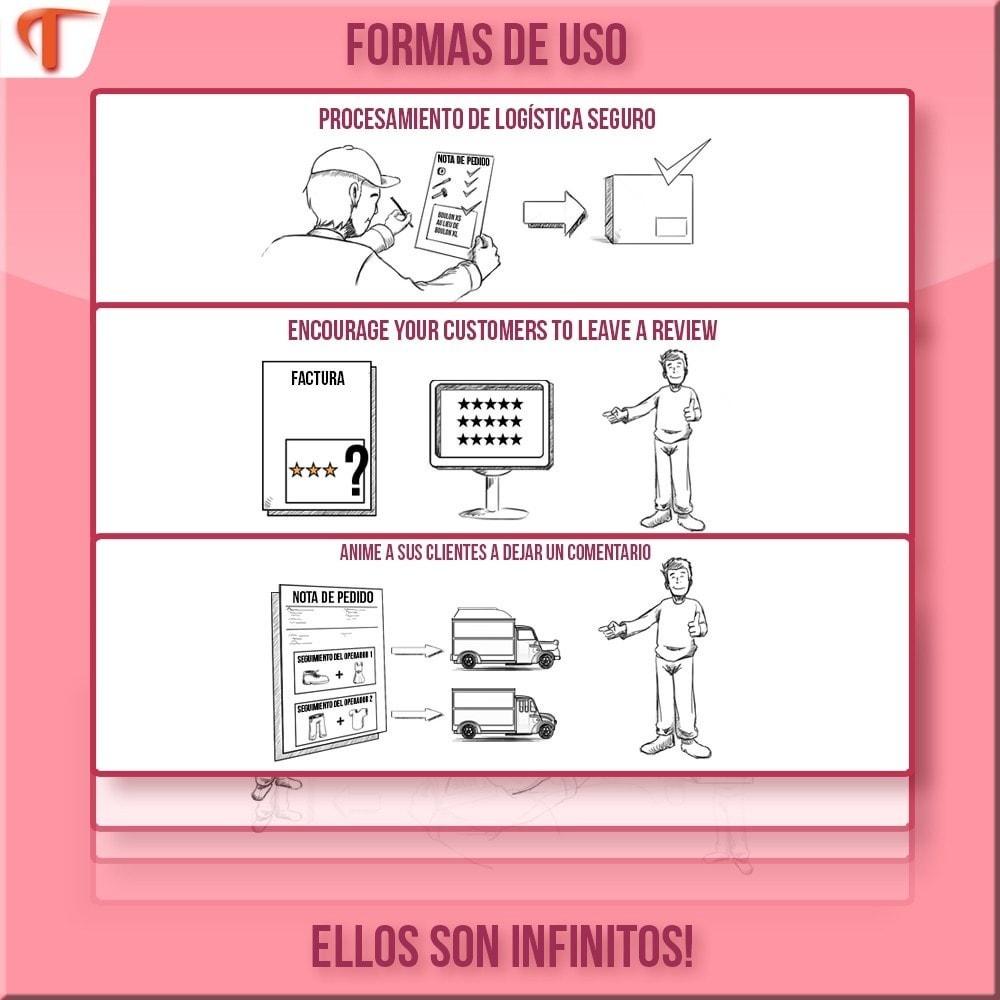module - Contabilidad y Facturas - Order Message in PDF facturas y/o albaranes de entrega - 2