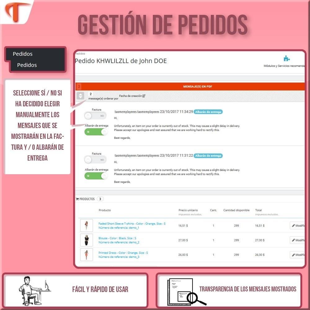module - Contabilidad y Facturas - Presente mensajes en sus facturas - 3