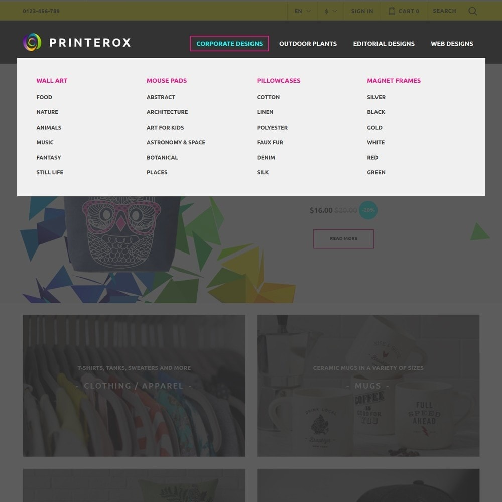 theme - Art & Culture - Printerox Design - 3