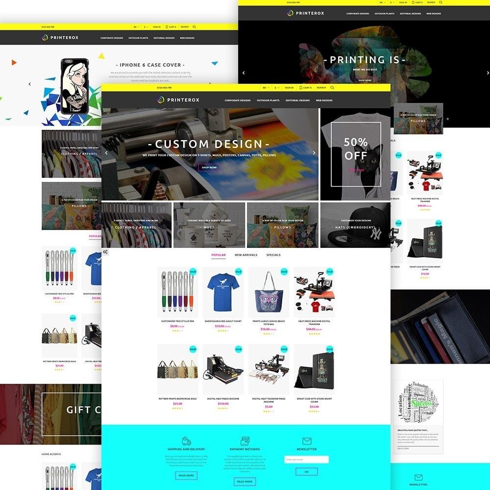 theme - Arte & Cultura - Printerox Design - 2