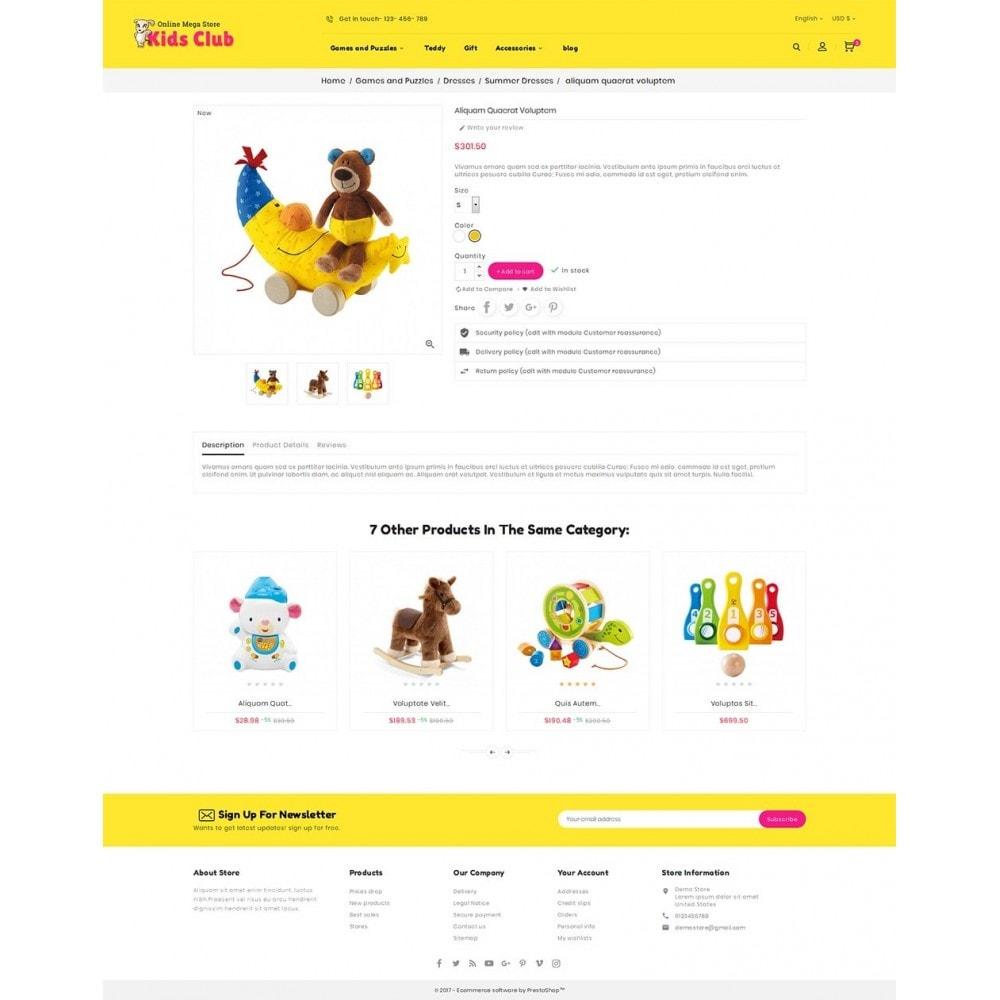 theme - Дети и Игрушки - Kids Toy Club - 5